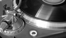 Vintage LP Player